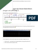 Contoh Perhitungan Dan Desain Balok Beton Dengan SAP2000 (Bag 1) _ Seputar Dunia Teknik Sipil