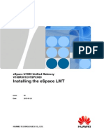 ESpace U1980 Unified Gateway V100R001C01SPC600 Software Installation Guide 06