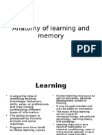 Anatomy of Learning and Memory, Last Editpp2003