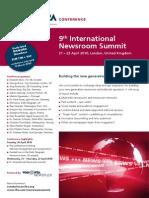 Newsroom Summit Fly 2010