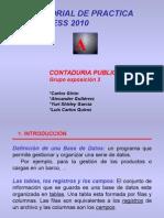 practica access 2010
