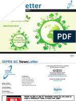 ISPRS Student Consortium Newsletter Vol. 8 No. 4 March 2015