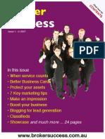 Broker Success Issue 1
