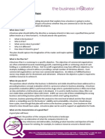 Business Planning White Paper For MBA Assignements