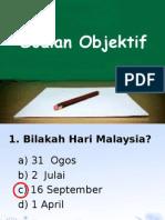 Soalan Aras Pengetahuan