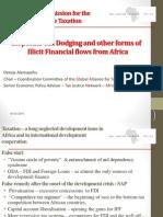 ICRICT - Dereje Alemayehu - Presentation - March 2015