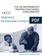 Principiile de Evaluare a Concurentei GHID OECD