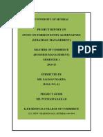 Strategic Management Pages