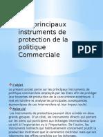 Les principaux instruments de protection de la politique commerciale