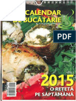 Calendar de Bucatarie