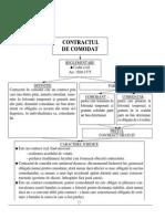 Contract Comodat Teoretic