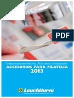 Catálogo de Accesorios Filatélicos Leuchtturm 2013