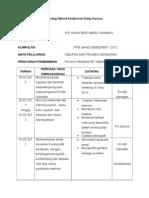 Borang Rekod Kolaborasi Kerja Kursus - Copy