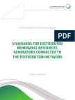 DEWA Standards for Distributed Renewable Resources Generators