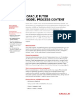 Oracle Tutor Process Content