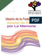Ideario de la Federación Estatal de Foros por la Memoria