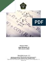 Tugas Matematika Terapan & Statistik 1