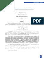 Projet de Loi Renseignement - version CDM