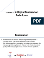 Lecture5 Digital Modulation