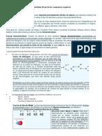 Propiedades Físicas de Los Compuestos Orgánicos. Generalidades