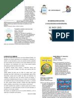 Consejos de Lectura 2º Ciclo. 2º Trimestre.