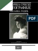Milanka Todic, Istorija Srpske Fotografije 1839-1940