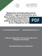 Reglamento Del Sistema Nacional de Afiliacion y Vigencia de Derechos,