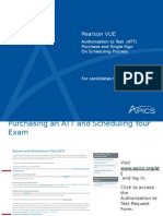 Pearson Vue Scheduling Process