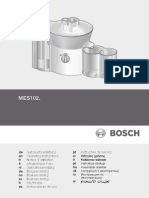 Bosch Mes 1020