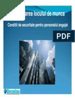 Organizarea Locului de Munca PSI