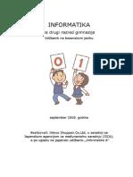 Informatika Za Drugi Razred Gimnazije
