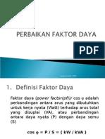 4.Perbaikan Faktor Daya