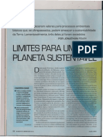 Limites Para Um Planeta Sustentavel Sciam