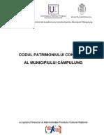 Campulung Muscel  - Codul patrimoniului construit