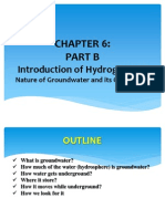 Chapter - Hydrogeology