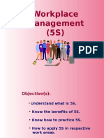 Work Place Management Using 5S