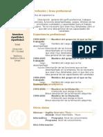 Curriculum Vitae Modelo3a Cronológico