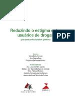Cartilha - Reduzindo o Estigma Entre Usuários de Drogas