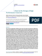 Use of Stone Dust in the Design of High Performance Concrete