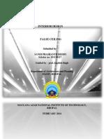 Paper on False Ceiling-libre
