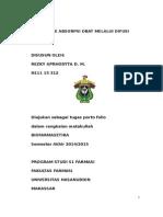 Mekanisme Absorpsi Obat Melalui Difusi Pasif
