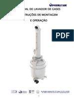 Manual Lavador de Gases