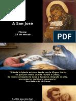 A San José - 19 Marzo