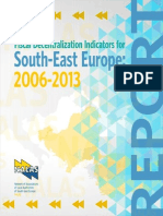 Fiscal Decentralization Indicators for South-East Europe
