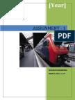 Assignment 1 FMID