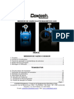 CONTECH-manual Do Medidor de Vazao Eletromagnetico