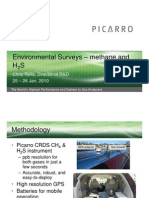 Picarro's CRDS Technology Methane analysis Southeast Louisiana January 2010
