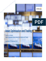 Asset Optimisation and Trading