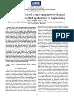 Magnetoreología