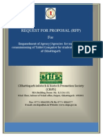 RFP for SUPPLY of Tablet in the State of Chhattisgarh 120213